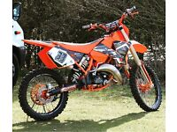 KTM sx125 2003 top spec