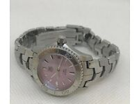 Ladies TAG HEUER Watch WJ1315 pink mother of pearl