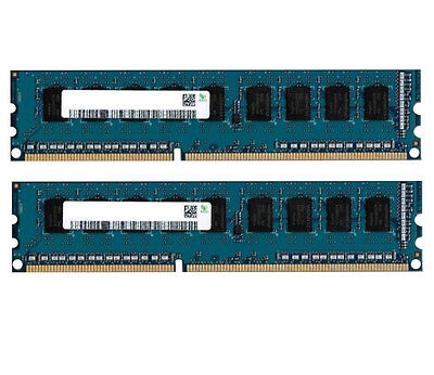 2x 8GB 16GB RAM DDR3 1600 Mhz PC3-12800 PC Speicher 240 pin DIMM PC12800 Non ECC