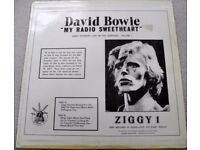 THREE DAVID BOWIE LP's. ALL RARE AND IN VG++ CONDITIONS. LOT 2