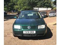 Volkswagen Bora SE for sale, MOT, low mileage, drives perfect.