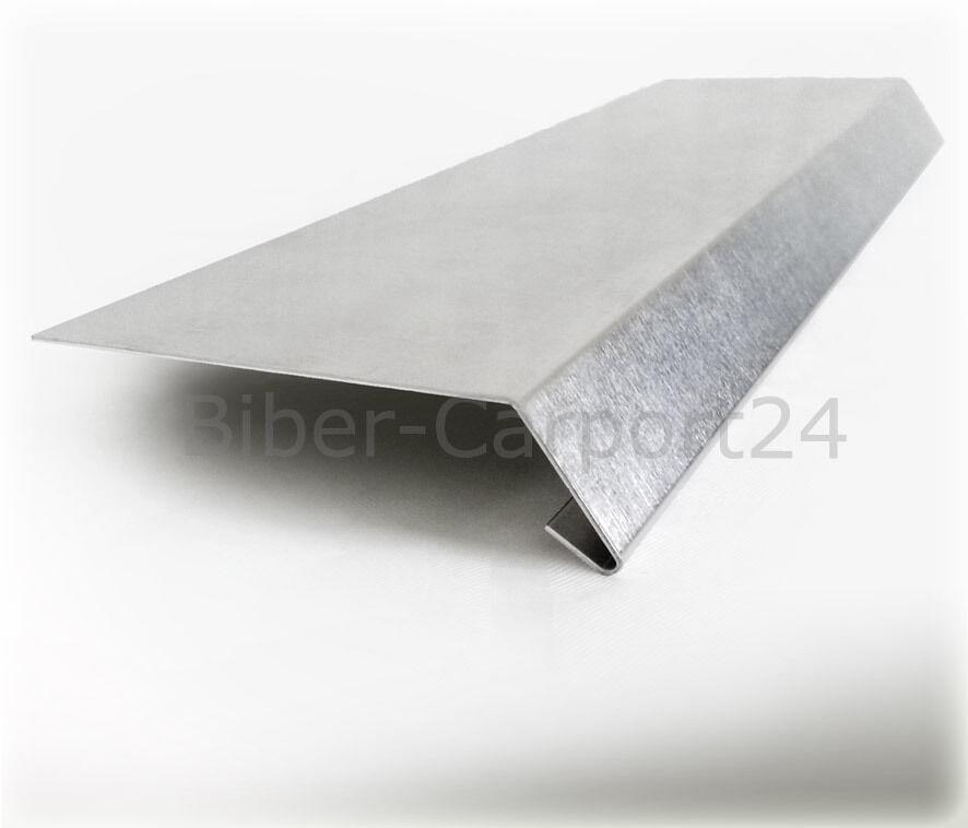 Traufblech 19 Profil Aluminium Blech Aluprofil Titanzink Tropfblech Alu Blech