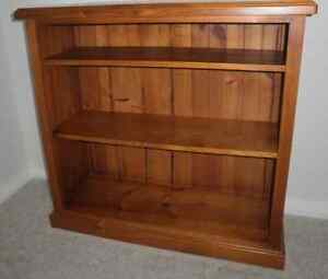 Bookcase solid Pine Kurrajong Hawkesbury Area Preview