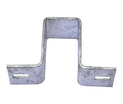 Wandshelle, Schelle, für Rechteckpfosten 70 x 40 mm