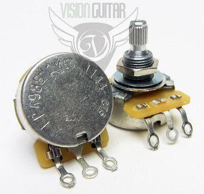 Cts 1 Meg Ohm Audio Short Split-shaft Potentiometer Volume Tone Pot -