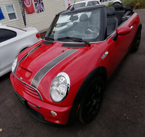 2005 MINI COOPER S CONVERTIBLE - FOR SALE!