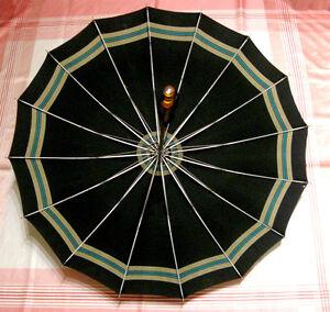 Ancien parapluie ombrelle Brophey Canada