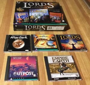 Vintage Computer Games PC Sierra Software (8 titles!)