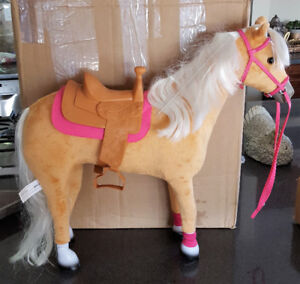 Like New My Life As Poseable Horse Chestnut/ Pink 18""