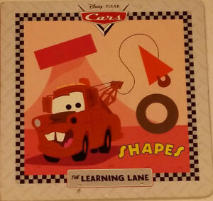 Cars Shapes The Learning Lane BOARD Book