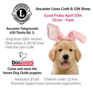 Spring Gift and Craft Show, Friday April 10