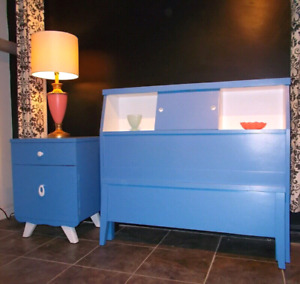 Mid Century Twin Bed