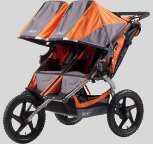 New BOB SUS Duallie double stroller
