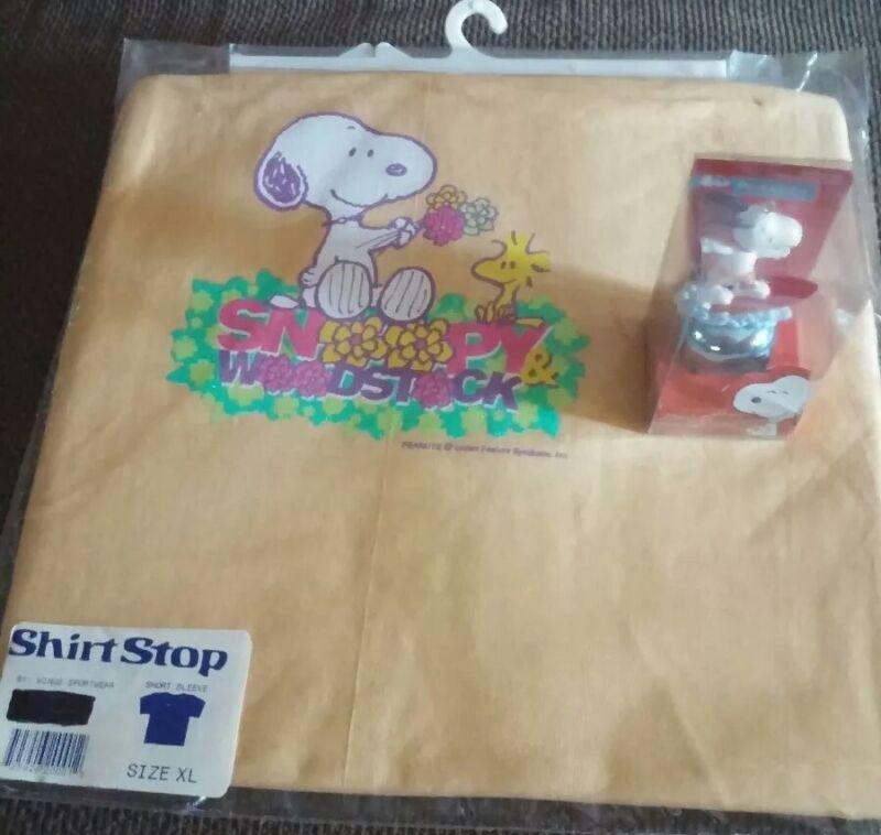 Snoopy Tshirt with bonus Jingle Buddy