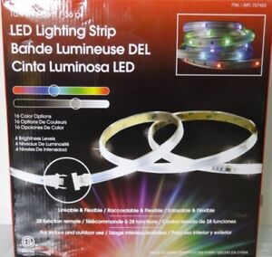 Indoor Outdoor LED RGB Tape Kit