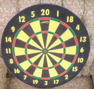 Standard Double-Sided Dart board