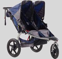 Poussette double BOB SE revolution duallie stroller