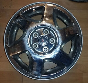"""Set of 16"""" alloy rims for Saturn L series -- 5x110"""