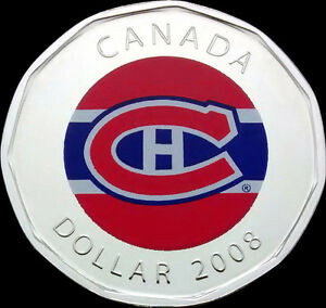 ◆◆LOTS OF NHL THEME COINS◆◆ Hockey Coins (Silver Color Loonie)