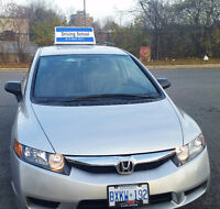 Incar Driving lessons Ottawa by experienced instructor for G /G2