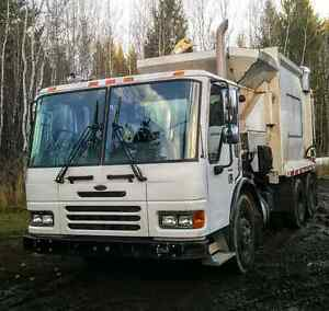 ***ONLY 18000KM***2005 Sterling Garbage Truck  Williams Lake Cariboo Area image 1