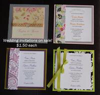 SALE ~Wedding Invitations~ SALE