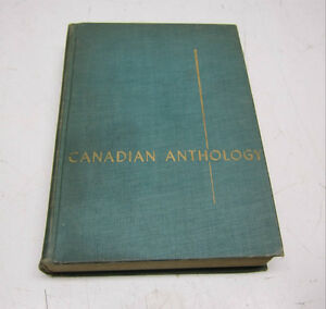 Canadian Anthology - Early Stories, Plays and Poems
