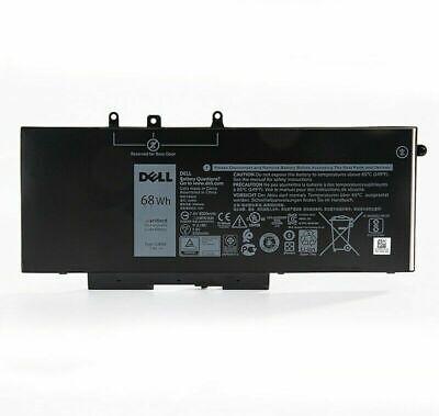 OEM Genuine 68Wh 7.6V GJKNX Battery for Dell LATITUDE 5480 5580 5490 5590 GD1JP