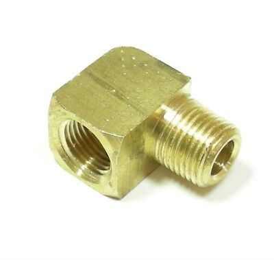 90 Degree Street Elbow 18npt Brass Pipe Fuel Fitting  Parker X2202p-2-2