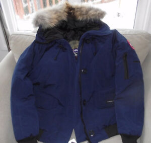 Navy Blue Canada Goose Jacket Large, New with tags