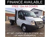 d450289ac0 Ford Transit 2.2TDCi Duratorq ( 100PS ) 350M ( DRW ) 1 WAY TIPPER -