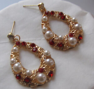 Lively & Sparkly  New Earrings