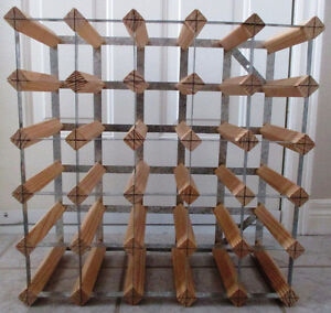 30 wine bottle rack