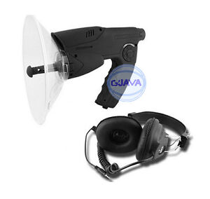 Sound-Amplifier-Audio-Parabolic-Mic-Voice-Bug-Bionics-Recorder-Ear-Spy-Booster