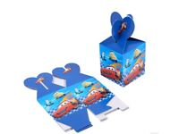 12pcs Candy Box Kids Birthday Party Supplies Favors Gifts Bag car
