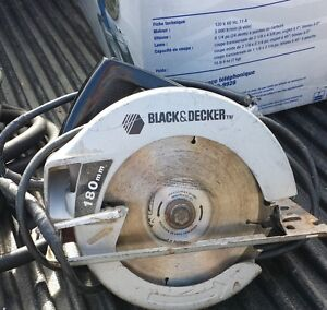 Skill saw / circular saw   Black and Decker