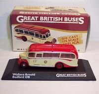 ATLAS GREAT BRITISH BUSES WALLACE ARNOLD BUS 1:76 DIECAST MODEL