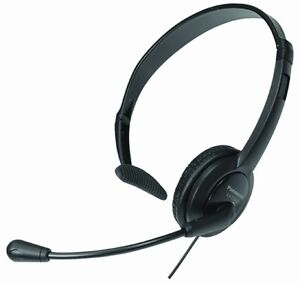 PANASONIC KXTCA400 Lightweight Headset with mic for phones