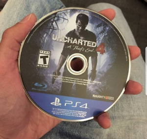 Ps4 NHL 17 and Uncharted 4