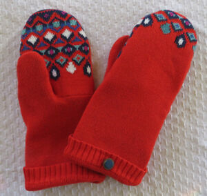 """""""Smittens""""  Up-Cycled Sweater Mittens"""