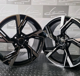 18 INCH AUDI RS6 STYLE ALLOY WHEELS 5×112