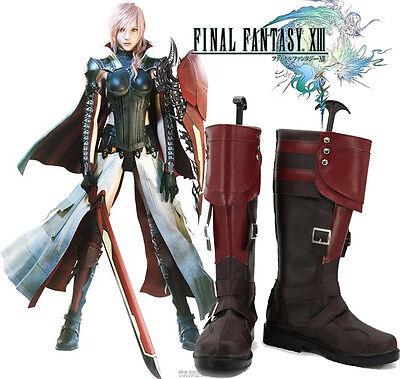 Lightning Returns: Final Fantasy XIII FF 13 Stiefel Schuhe shoes Kostüme - Lightning Ff Kostüm