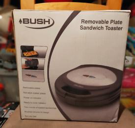 Bush removable plate sandwich Toaster