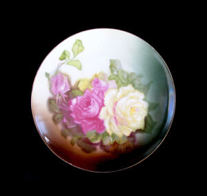 Bavarian Rose Plates