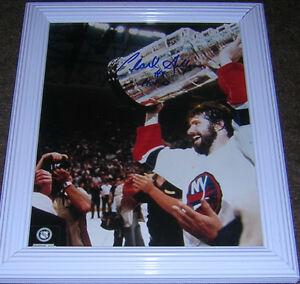 CLARK GILLIES NEW YORK ISLANDERS AUTOGRAPH (CERTIFIED)
