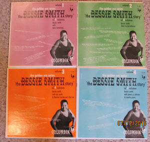 BESSIE SMITH LP RECORDS – The Bessie Smith Story on 4 Vinyl 12""