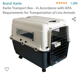 Transport box for dogs
