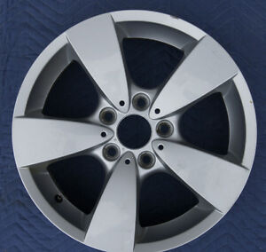 "OEM BMW 17"" 5 Bolt Wheel / Rims Peterborough Peterborough Area image 5"