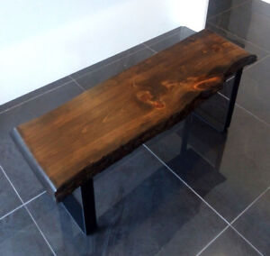 Live Edge Benches - 3.5FT - Metal Legs - Christmas SALE!!