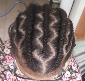Professional hair braiding in Niagara Region